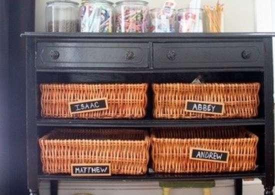 Basket Dresser