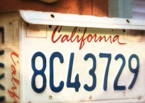 License Plate DIY