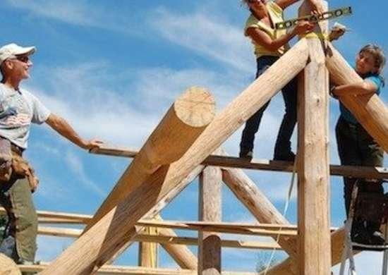 Log Building School
