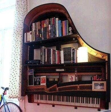 Pianobookshelf craziestgadgets.com
