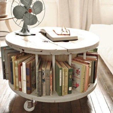 Recycled spool