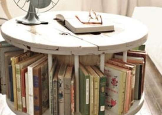 Repurpose Spool Coffee Table
