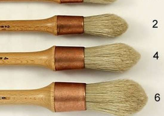 Round Sash Brush