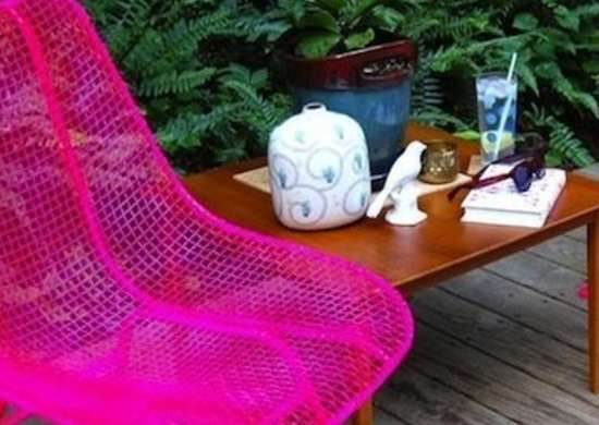 DIY Lawn Furniture