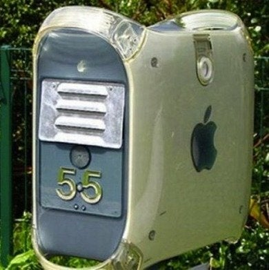 Apple mailbox photofunblog