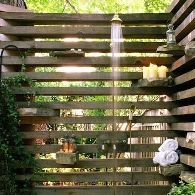 Outdoor Shower Diy Shed 16 Designs To Inspire Yours