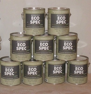 Natural paint give your walls a fresh coat bob vila for Eco house paint