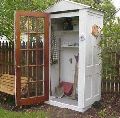Door gardenshed inspirationgreen