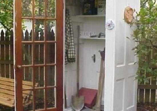 Door-gardenshed-inspirationgreen