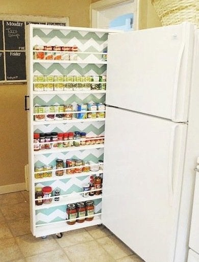Canned food cabinet