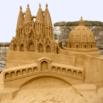 Sagrada Familia Sand Castle