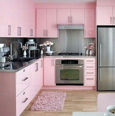 Pinkkitchen apartmenttherapy.com