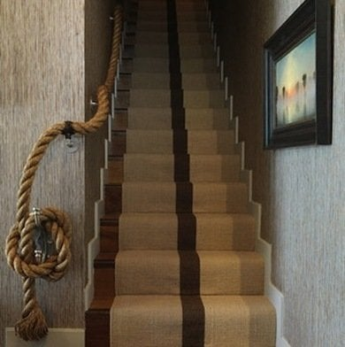 Charmant Rope Handrail
