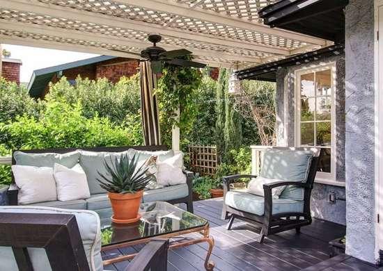 Front Porch Pergola Ideas