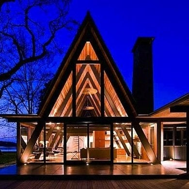 A frame house designs 10 that deserve a bob vila for Modern a frame homes