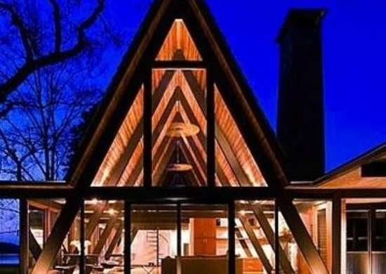 A frame house17