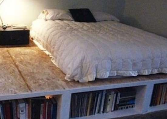 Diy Platform Bed Diy Bed Frame 15 You Can Make