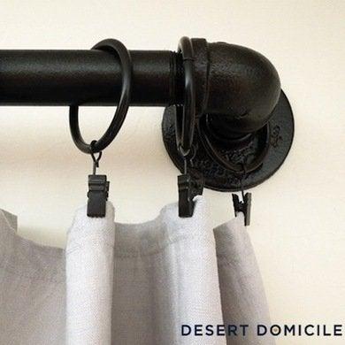 Curtainpipe desertdomicile.com