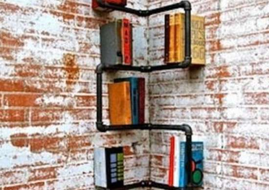 Pipe Bookcase