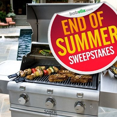 Bob vila 39 s end of summer sweepstakes week one for Enter now to win