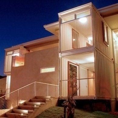 Redondo beach container house demaria bob vila exterior front