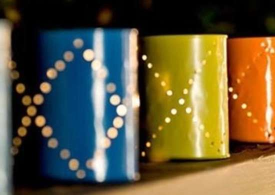 Paint Can Lanterns