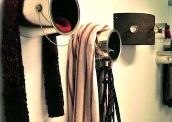 DIY Coat Hooks