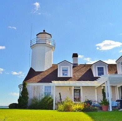 Lighthouse for sale bob vila for Tower house for sale