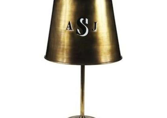 Monogramtablelamp