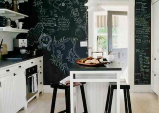 Blackandwhitechalkboardwall