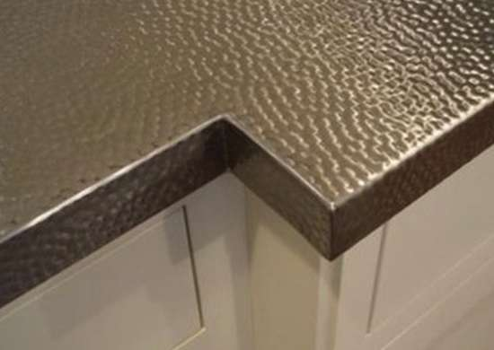 Stainless steel countertop countertop ideas 6 unique designs bob vila - Unique countertops ...