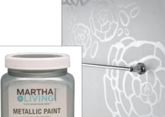 Marthastewart metallicpaint