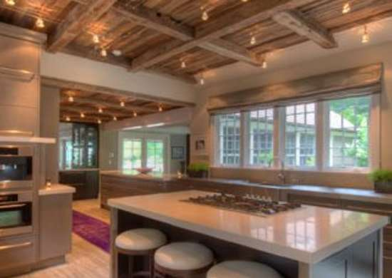 Exposed Kitchen Beams