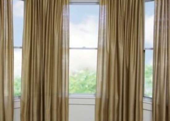 Bay Window Drapes Custom Blinds 8 Solutions for Tricky Windows