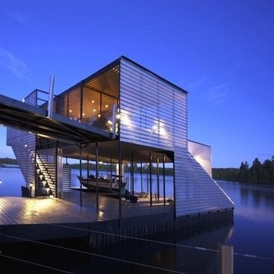 Modern boathouse boathouses 10 see worthy designs bob vila - Modern vila design ...