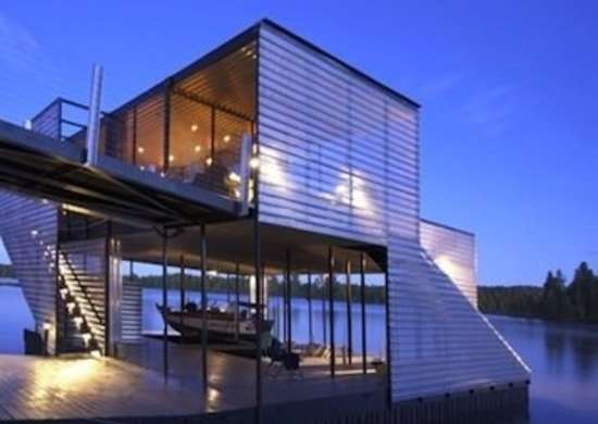 Modern Boathouse