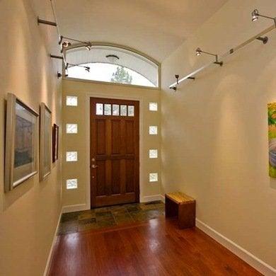 Glass block ideas 10 trendy home design inspirations - Glass block windows in living room ...