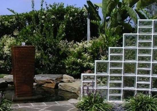 Glass Patio Design Glass Block Garden Glass Block Ideas 10 Trendy Home Design