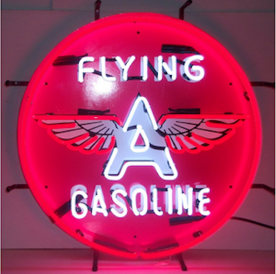 Flyingagasolineneonsign-gadgetsandgear