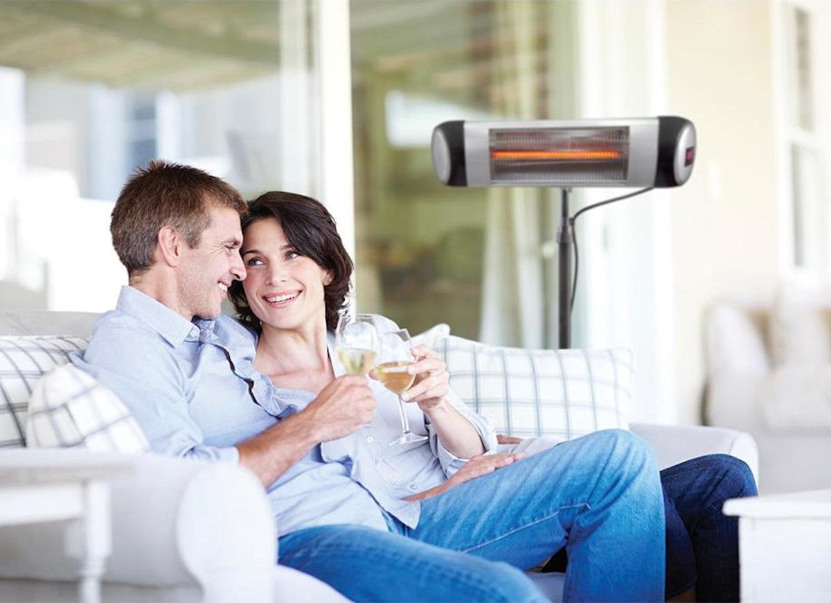 8 Patio Heaters to Keep You Comfy Outdoors