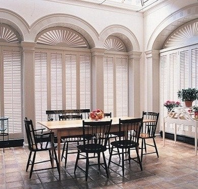 Custom blinds 8 solutions for tricky windows bob vila for How to decorate an arched window
