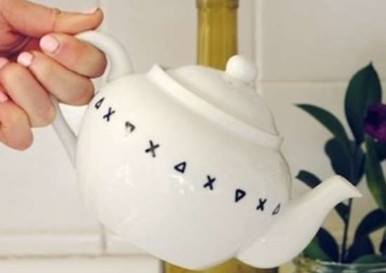 Personalized Teapot