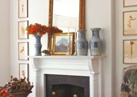 Stately Mantelpiece