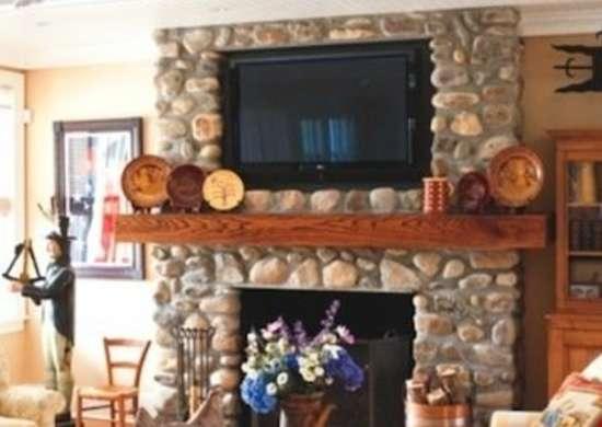 Tv Over Fireplace Fireplace Mantel Ideas Bob Vila
