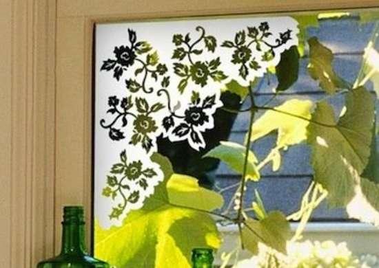 Corner Window Film