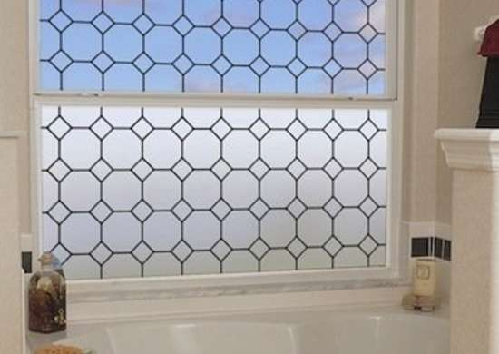 Tudor leaded glass