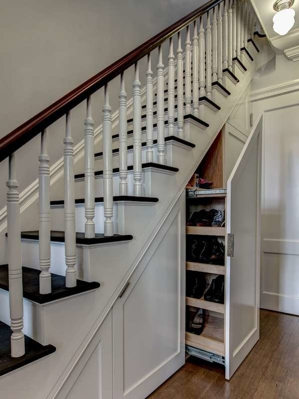 Under Stair Storage , 17 Clever Ideas , Bob Vila