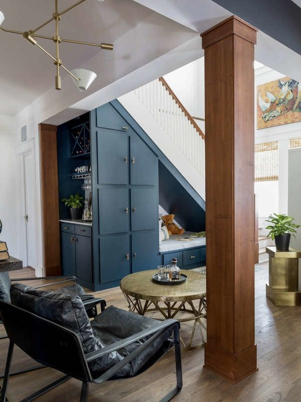 foto de Under Stair Storage - 17 Clever Ideas - Bob Vila