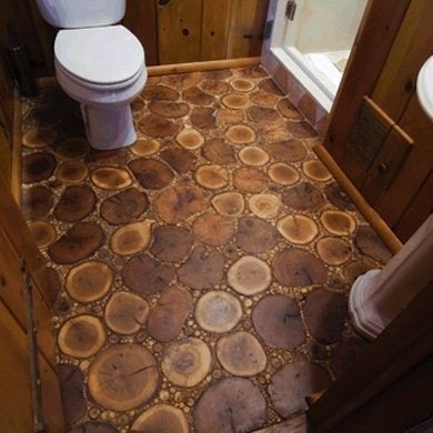 Cheap flooring ideas 15 totally unexpected diy options for Cheap diy flooring ideas