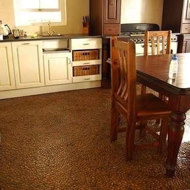 Cheap Flooring Ideas - Peach Pit DIY